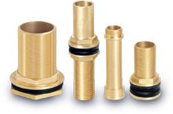 Brass connectors water tank fittings