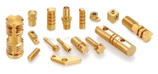 Brass Screw Machine Parts Turned Parts