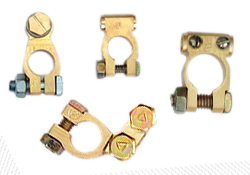 Brass terminals Brass battery terminals india Jamnagar