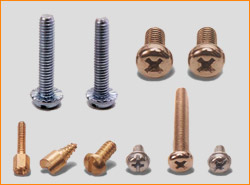 Brass Screws Brass  Machine screws , Brass Wood Screws, Flat Head Brass Screws  , Din Standard Brass Material
