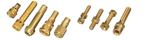 Brass material parts