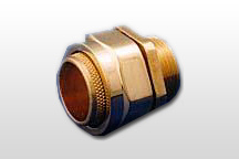 BW 2 Parts Brass Cable Gland