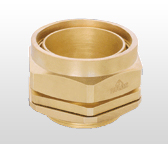 B/W 4 Parts Brass Cable Gland